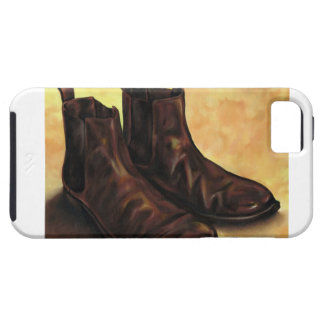 A Pair of Chelsea Boots iPhone SE/5/5s Case