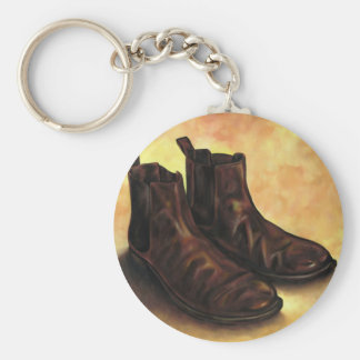 A Pair of Chelsea Boots Keychain