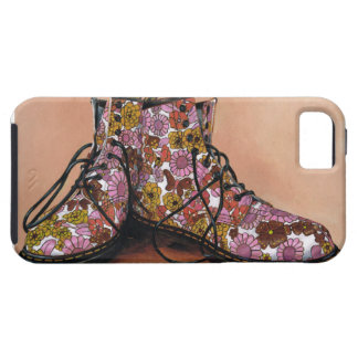 A Pair of Favourite Floral Boots iPhone SE/5/5s Case