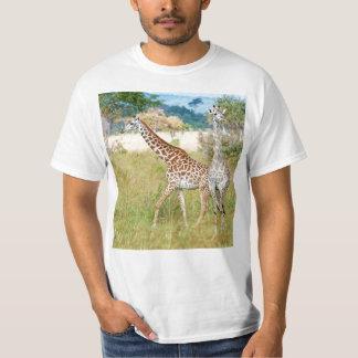A Pair of Giraffes in the Mikumi National Park T-shirt