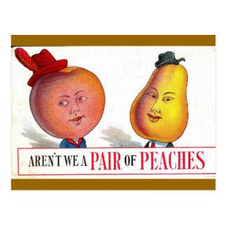 A Pair of Peaches? Postcard