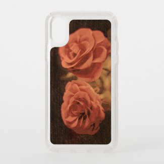 A pair of roses in sketch3 speck iPhone x case
