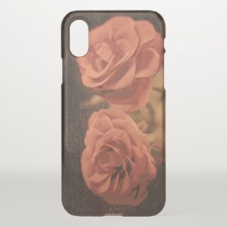 A pair of roses in sketch3 iPhone x case