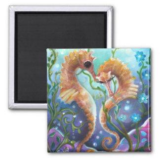 A pair of Sea Horses  Magnet
