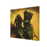 A Pair of Shoes by Vincent van Gogh, Vintage Art Stretched Canvas Print