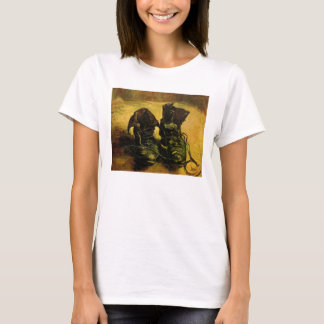 A Pair of Shoes by Vincent van Gogh, Vintage Art T-Shirt