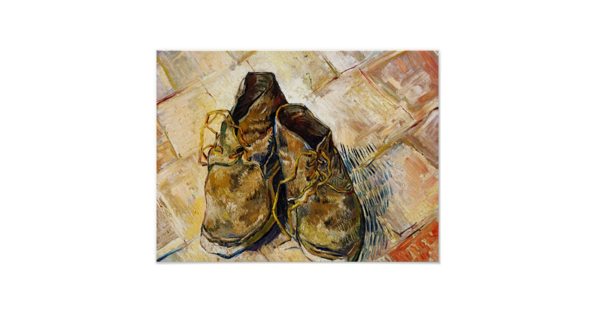 A Pair Of Old Shoes Van Gogh