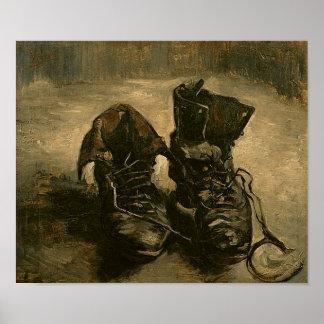 A Pair of Shoes, Vincent van Gogh Poster