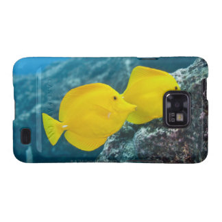 A Pair of Yellow Tangs Galaxy SII Case