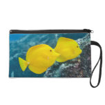 A Pair of Yellow Tangs Wristlet Purse