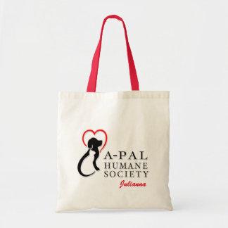 A-PAL Logo Custom Name Tote Bag
