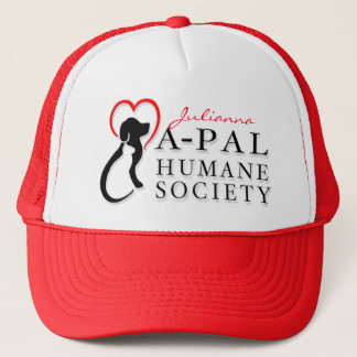 A-PAL Logo Hat - Red with Custom Name