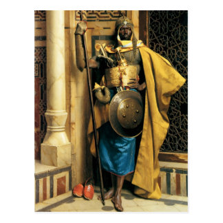 A Palace Guard Postcard