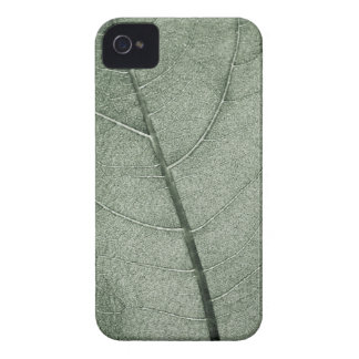 A pale green leaf, close up. pattern iPhone 4 case