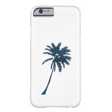 Beach Themed A palm barely there iPhone 6 case