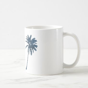 A palm coffee mug
