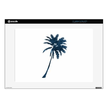 """Beach Themed A palm decal for 15"""" laptop"""