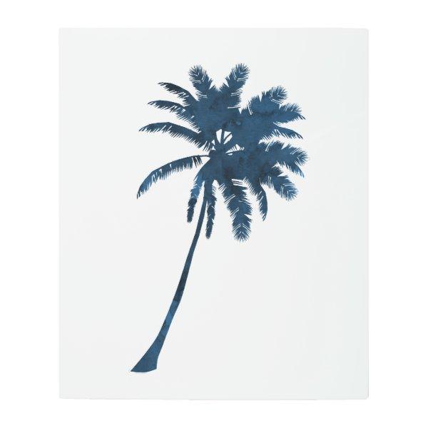 A palm metal print