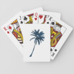 A palm playing cards
