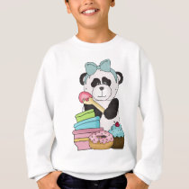A Panda Bears Sweet Treats Sweatshirt