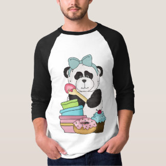 A Panda Bears Sweet Treats T-Shirt