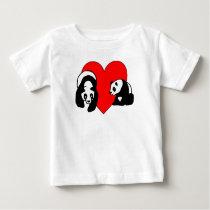 A Panda Love Baby T-Shirt