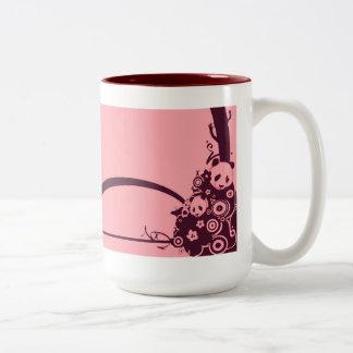A Panda Pattern 3 Two-Tone Coffee Mug
