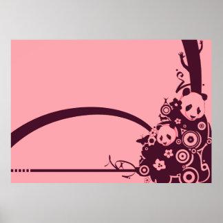 A Panda Pattern 3 Print