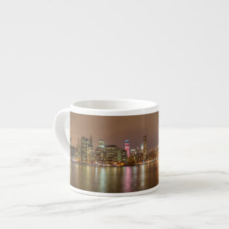 A panorama of the New York City skyline Espresso Cup