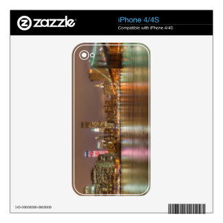 A panorama of the New York City skyline iPhone 4S Skins