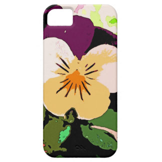 A Pansy as pretty as a painting iPhone SE/5/5s Case