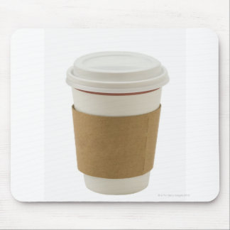 A paper coffee Cup Mouse Pad