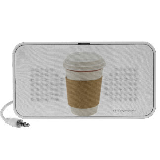 A paper coffee Cup Mp3 Speakers