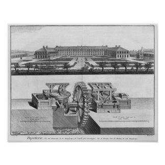 A paper mill poster