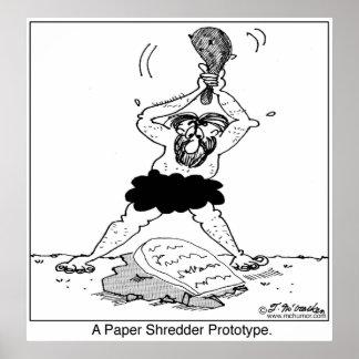 A Paper Shredder Prototype Poster