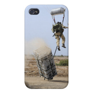 A pararescueman drops into the zone iPhone 4/4S covers