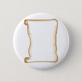 A Parchment Scroll Pinback Button