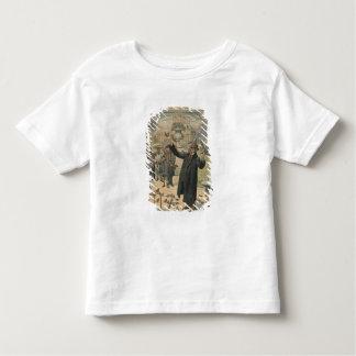 A Parisian type, the bird charmer of the Toddler T-shirt