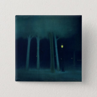 A Park at Night, c.1892-95 Pinback Button
