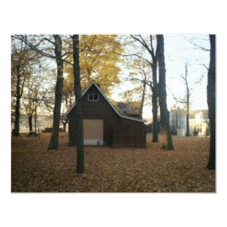 """A park 4.25"""" x 5.5"""" invitation card"""
