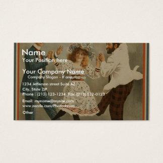 A Parlor Match Business Card