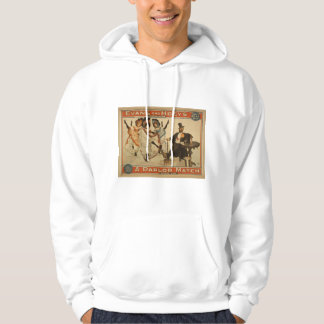 A Parlor Match, 'Enough Said' Retro Theater Hoodie