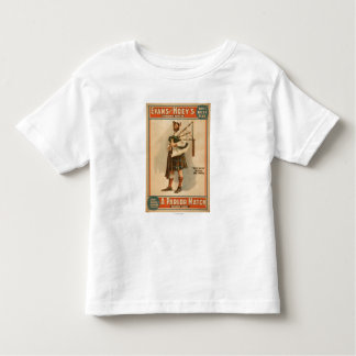 "A parlor Match ""Old Hoss"" Scottish Bagpiper Toddler T-shirt"