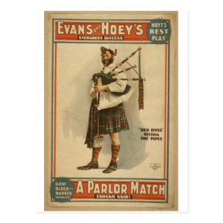 A Parlor Match Postcard