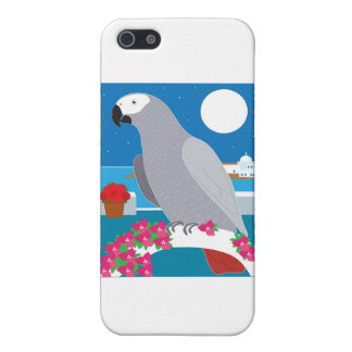 A Parrot in Paradise iPhone SE/5/5s Case