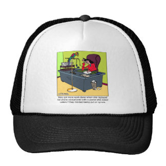 A Parrot Puts You On Ignore Trucker Hat