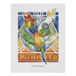 A Parrot's World Poster