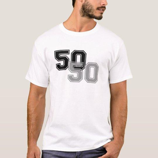 A PARTES IGUALES - 50 50 PLAYERA