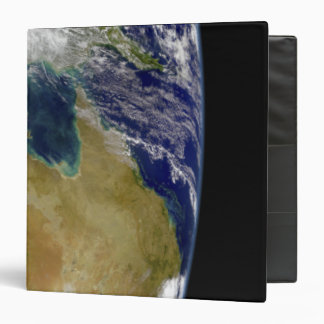 A partial view of Earth showing Australia Binder