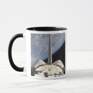 A partial view of Space Shuttle Endeavour Mug